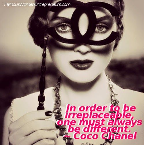 LIKE us on FB: https://www.facebook.com/famouswomenentrepreneurs 10 Quotes from Coco Chanel ~ Famous Women Entrepreneurs' Wisdom   Famous Women Entrepreneurs