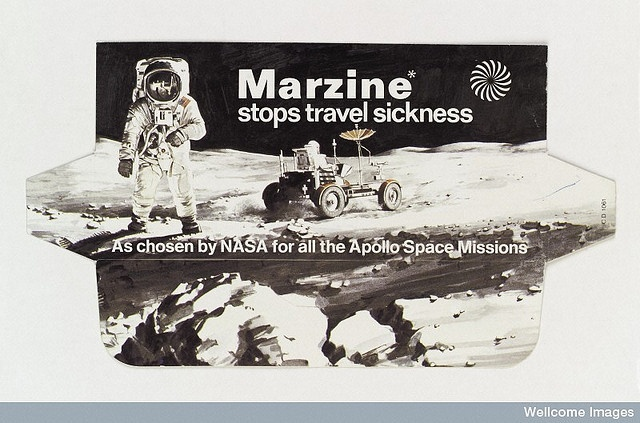 L0037305 Packaging for Marzine anti-nausea drug by medicospace, via Flickr