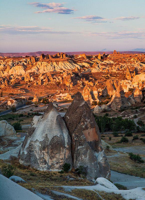 De dramatic valley in Goreme Cappadocia_ Turkey