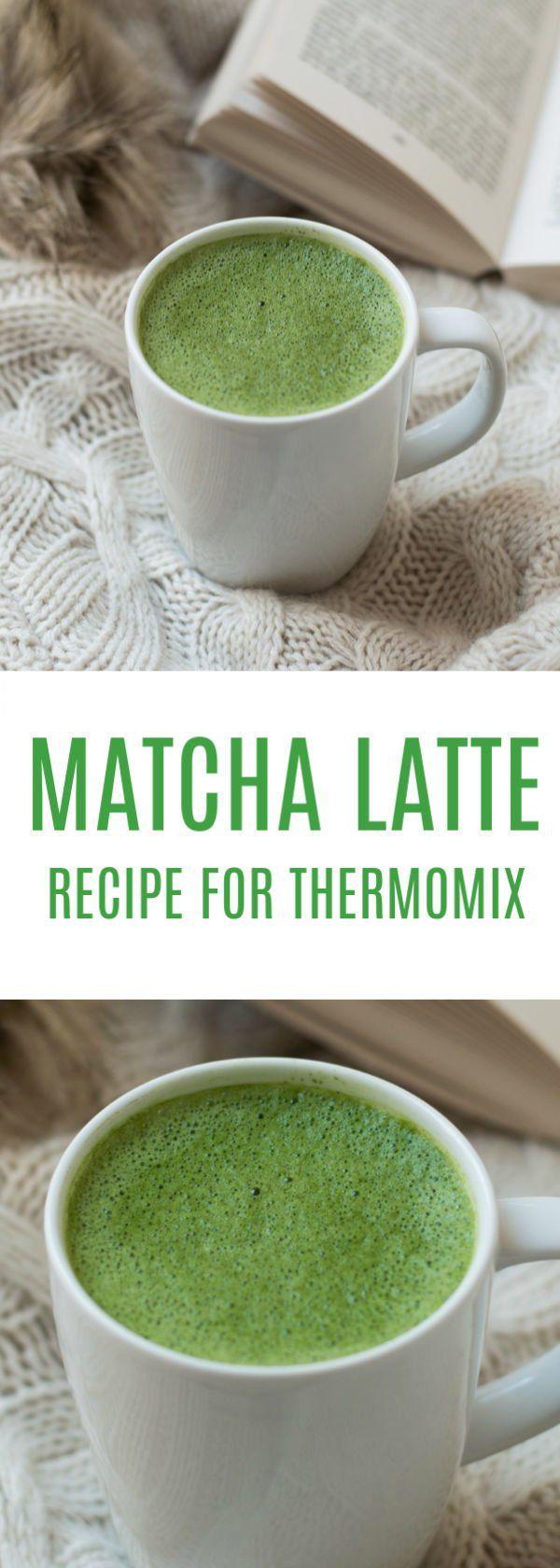 Thermomix Matcha Latte