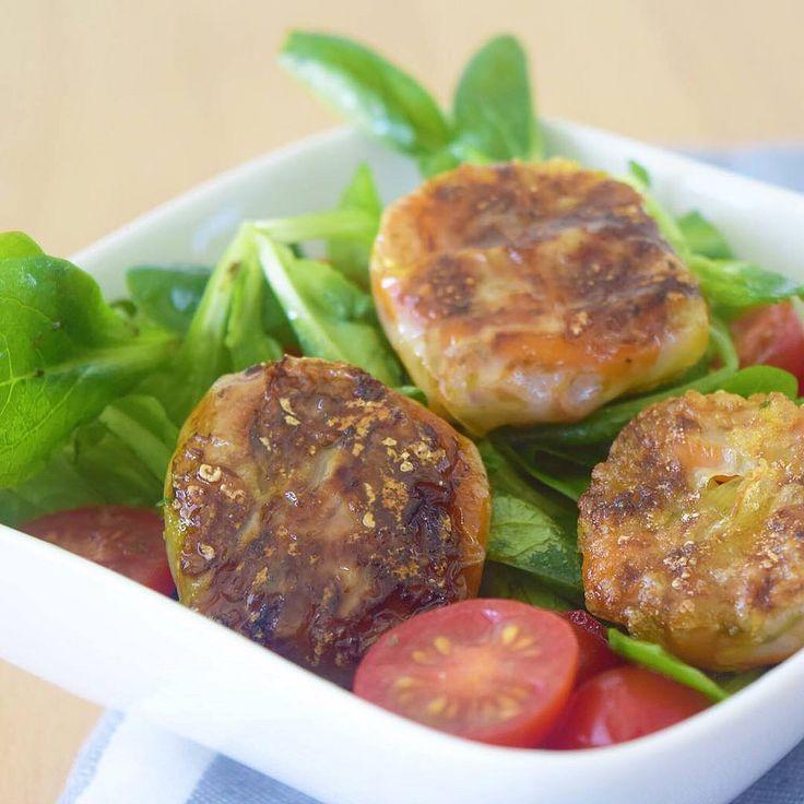 Ein bisschen #asiatischer #salad sag ich da mal . In Reisblätter eingewickeltes Gemüse und in Öl gebraten. Einfach #lecker und zu Salat oder Partysnack #perfekt #blog #blog #blogger #kochblog #köstlich #nomnom #omnomnom #niciskochblog #hobby #happy