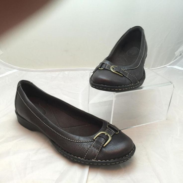 Clarks Leather Medium (B, M) 9 Flats & Oxfords for Women