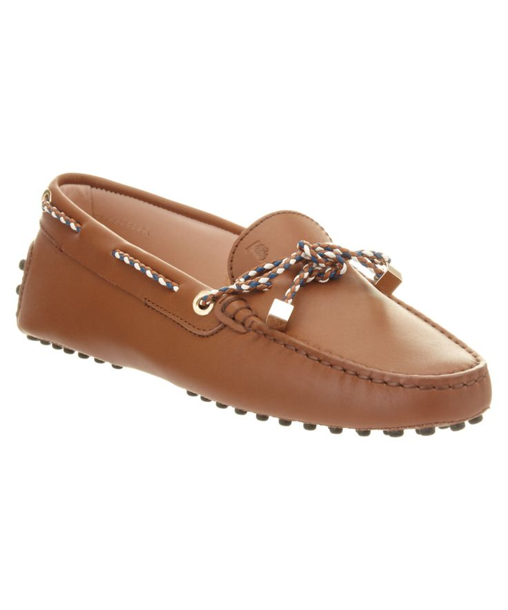 TOD'S-Tod's Gommino Leather Driving Shoe #Shoes #Flats #TOD'S