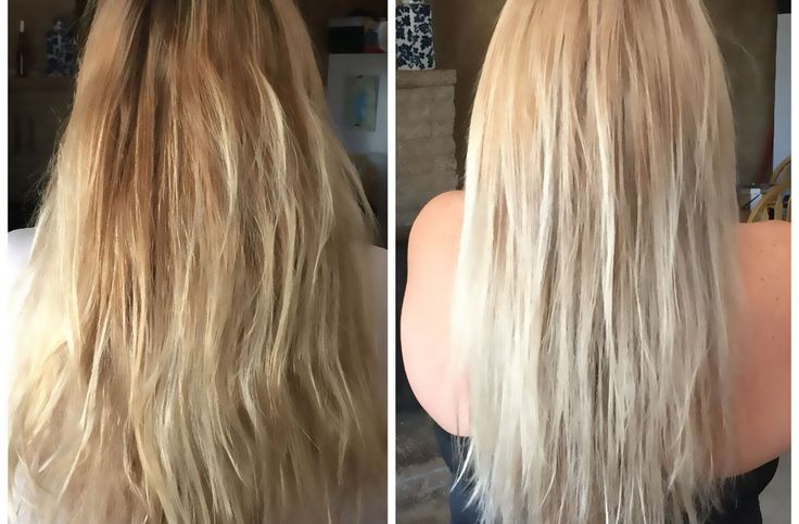 Wella T11 & T18 Toner Before And After #haircareafterbleaching,