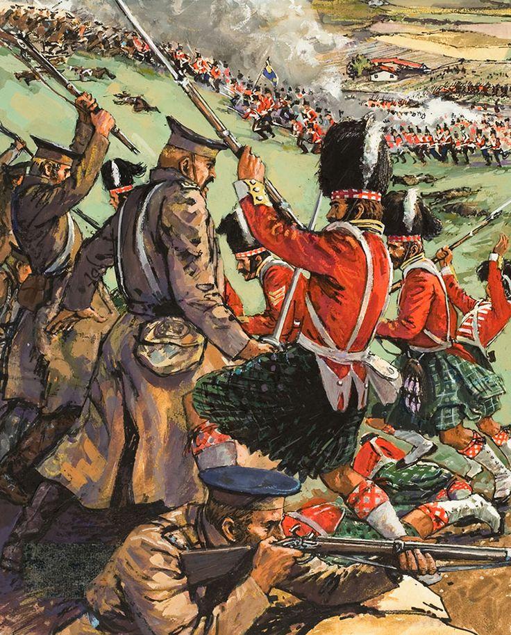 Crimean War The Battle of Alma 1854 (Original) art by Leo Davy
