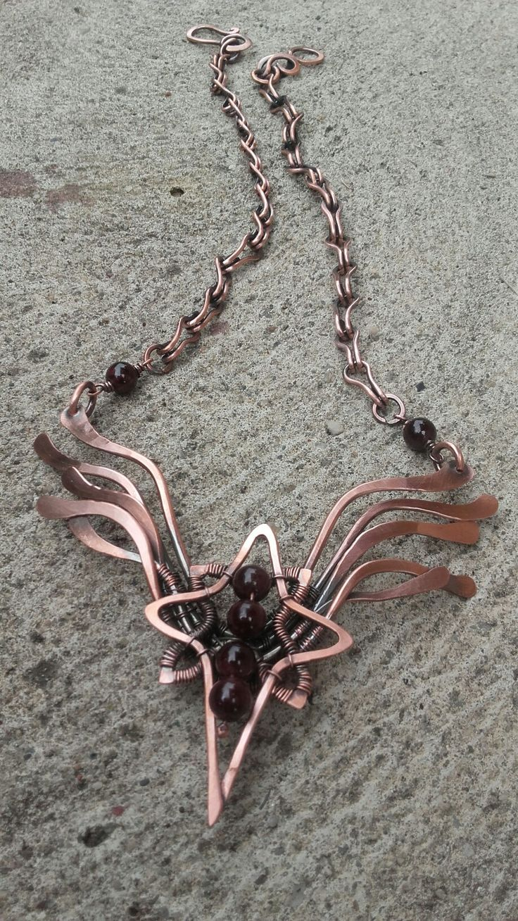600 best Wire wrap /Necklace / КОЛЬЕ images on Pinterest | Wire ...