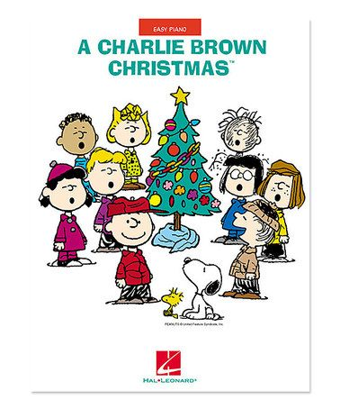 Loving this A Charlie Brown Christmas Easy Piano Songbook on #zulily! #zulilyfinds