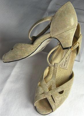 Stunning Werner Kern Tanzsport Dance Shoes 6.5 M Tan Multi ...