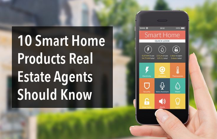 Innovative smart home technology real estate agents should know about to help market their listings to luxury buyers and leads who care about efficiency.	http://plcstr.com/1GMwAb3 #realestate #smarthome #luxury
