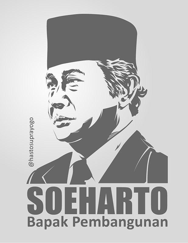Soeharto - Bapak Pembangunan by astayoga.deviantart.com on @DeviantArt