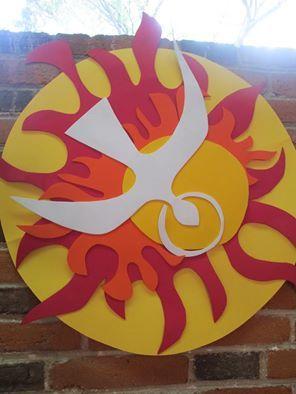 Pentecost community collage