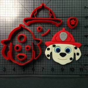 Paw Patrol – Marshall Cookie Cutter Set