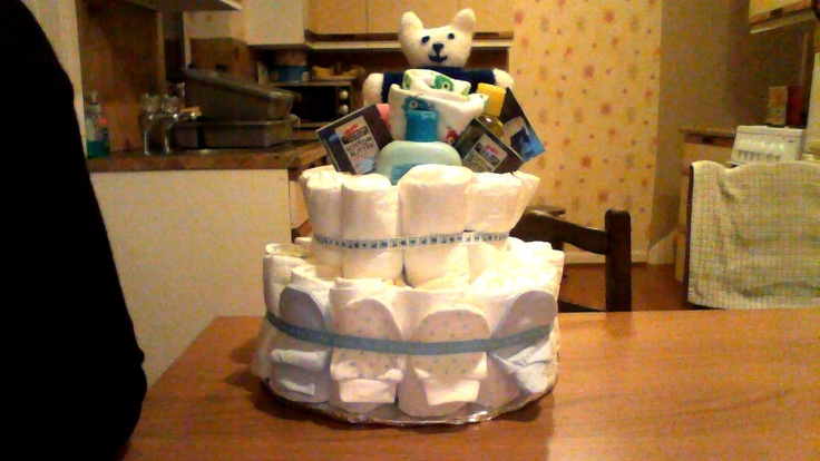 Nappy Cake for Lauren