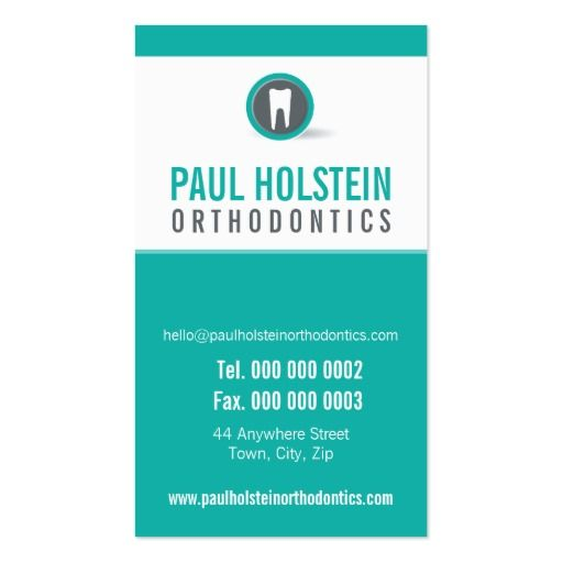 Best Dentist Business Cards Images On   Business