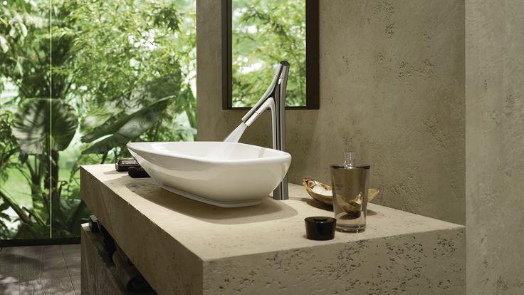 Innbydende bad med naturlig stil