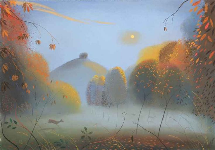 Nicholas Hely Hutchinson. Autumn in Dorset