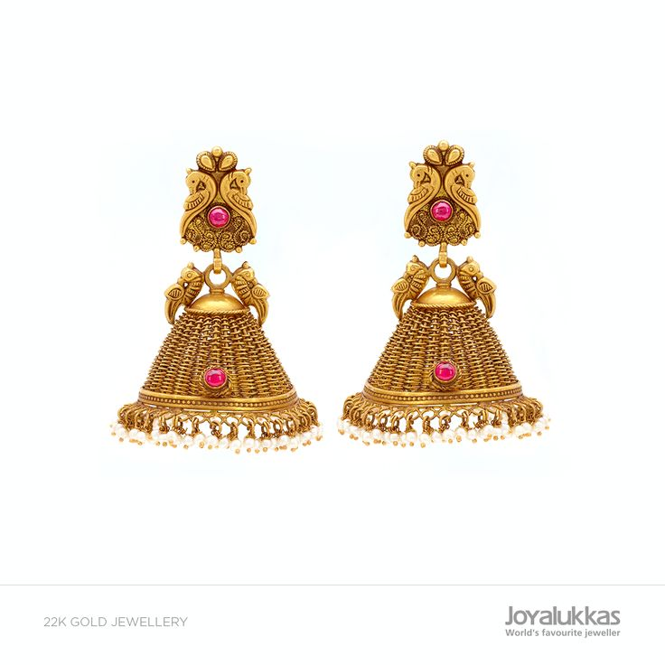 THE GREAT JHUMKA FEST COLLECTIONS! Weight: 49.040gm Approximate Price: Rs 1,52,623 (as today's gold rate)