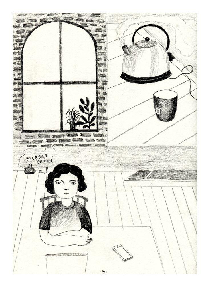 #illustration #comic #pencil #24hcomic http://www.mycomics.de/comic/9356-muskelkater.html
