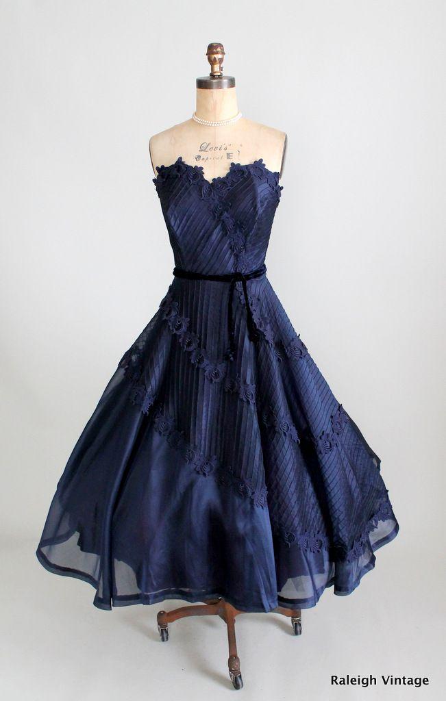 ~1950's Organza Dress~