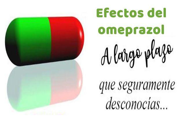 Efectos secundarios del omeprazol a largo plazo | Cancer ...