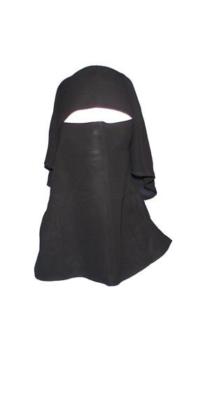 2 layer Niqab  - Hijab Now