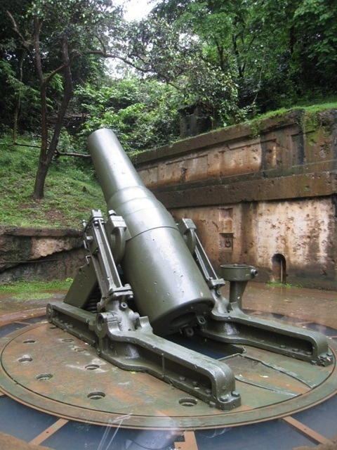 WWII  Cannons  in Corregidor.   ...so much History, no words will ever....never describe the feelings I felt during my visit.....