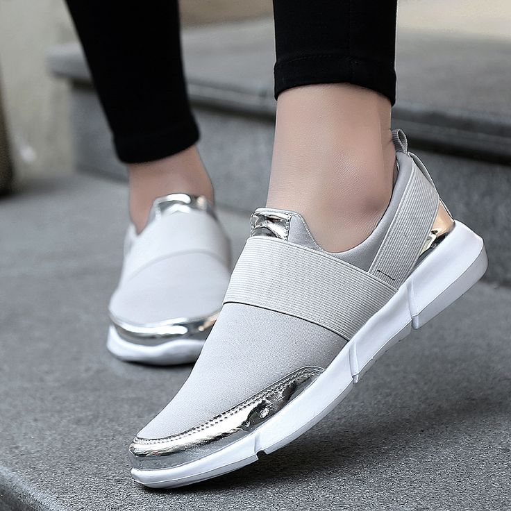 Bulldog Lovely Pattern Breathable Fashion Sneakers Running Shoes Slip-On Loafers Classic Shoes