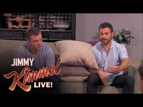 Matt Damon Jimmy Kimmel: The greatest moments in their feud