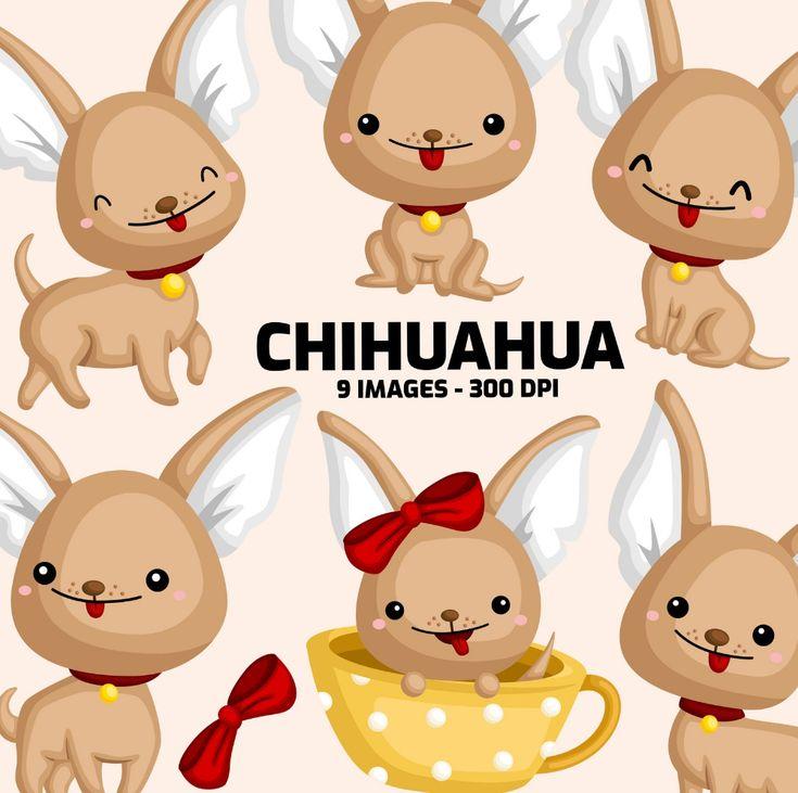 Cute chihuahua clipart cute animal clip art home pet