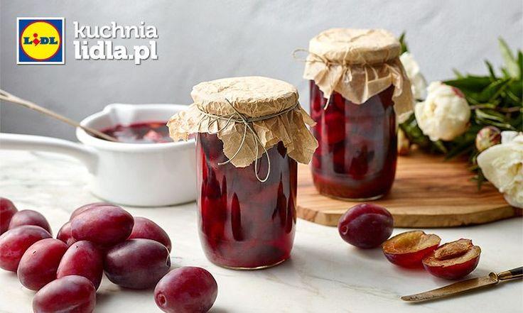Śliwki w aromatycznym syropie. Kuchnia Lidla - Lidl Polska. #cukiernik #sliwki