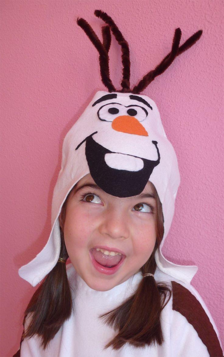 Disfraz de Olaf (Frozen) casero/ Olaf homemade costume