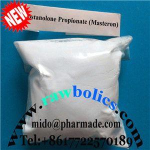 Drostanolone Propionate Steroid Hormone Powder mido@pharmade.com