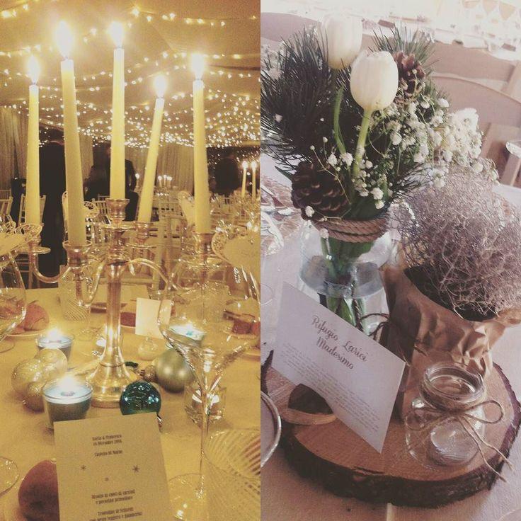 Due #matrimoni invernali a meno di una settimana l'uno dall'altro con due temi e due #centrotavola completamente diversi.  Non saprei quale scegliere   #Event_ualmente #weddingplanner #allestimento #fiori #fattocolcuore #Lecco