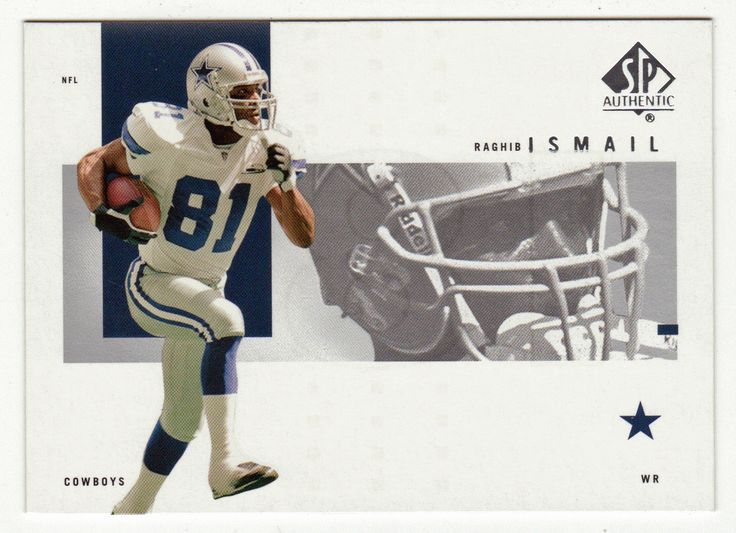 Rocket Ismail # 25 - 2001 Upper Deck SP Authentic Football