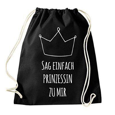 HASHTAGSTUFF Turnbeutel mit Spruch / verschiedene Sprüche & Designs auswählbar / Beutel: Schwarz / Rucksack / Jutebeutel / Sportbeutel / Hipster