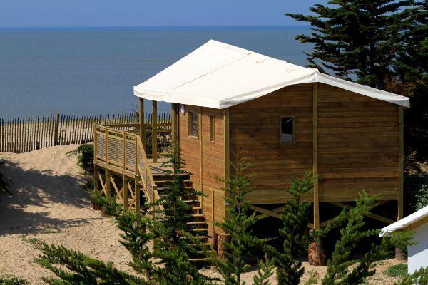 Domaine les Moulins in de Vendée. Prachtige luxe camping