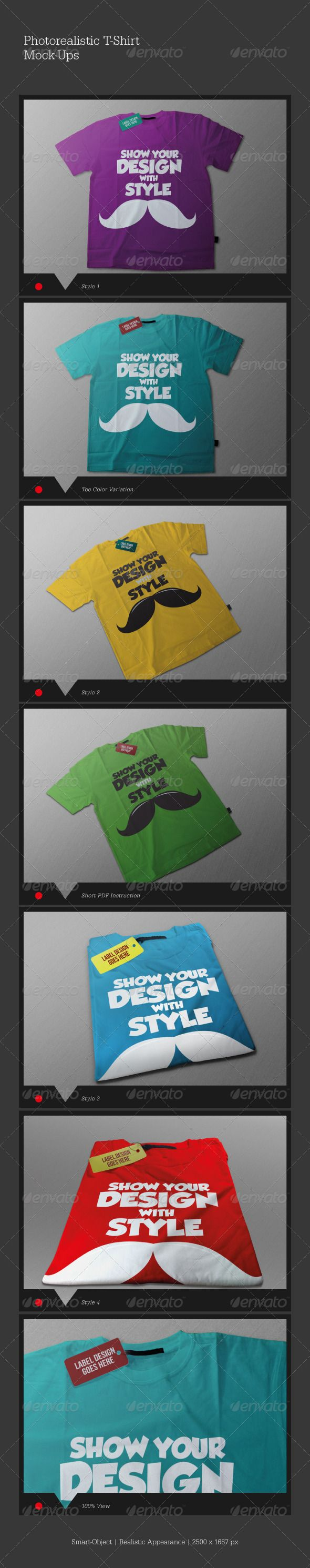 Scalable t shirt mockups more info - Photorealistic T Shirt Mock Ups