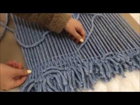 Batik renklerle etkili kilim yapılışı - An effective carpet with Batik colours - YouTube
