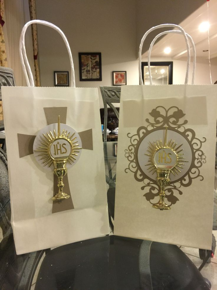 First Communion Gift Bags / Centerpieces