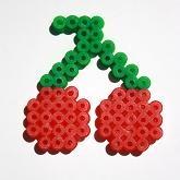 Kirschen / Hama Perlen - perler beads - Bügelperlen