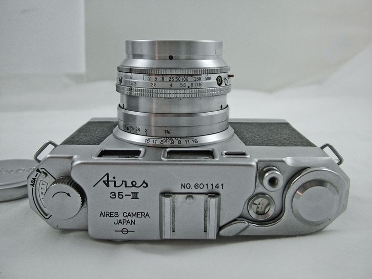 VINTAGE AIRES 35-III RANGEFINDER CAMERA WITH 4.5cm F1.9 CORAL LENS AND CASE 1956 | eBay