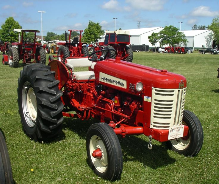 1960 340 International Utility Tractor : Best red power round up images on pinterest
