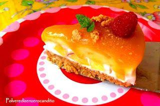 Polvere Di Zenzero Candito: Yogurt cake pesche e amaretti
