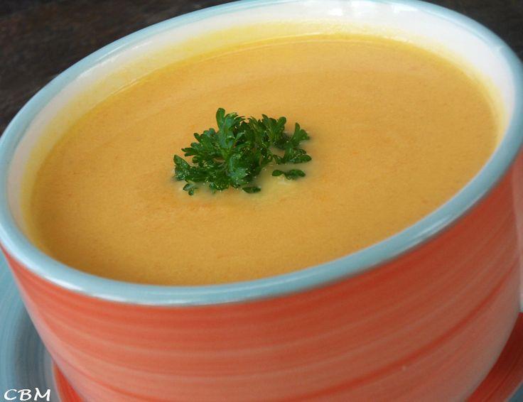 Dans la cuisine de Blanc-manger: Potage de carottes et de navet à l'érable
