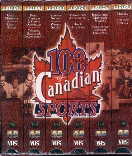 TSN 100 Years of Canadian Sports ~ 5 Video Tapes Boxed Set ~ VHS  | eBay