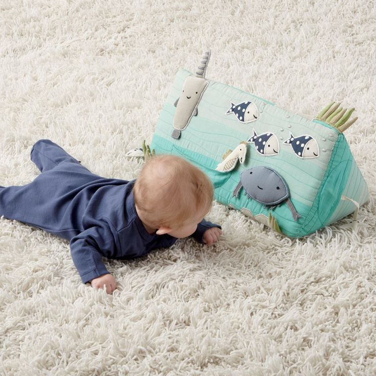 Sea Life Tummy Time Toy | The Land of Nod