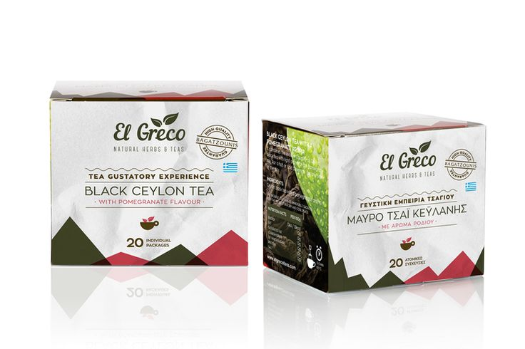 twomatch! - ElGreco   Natural Herbs & Teas PACKAGING DESIGN World Packaging Design Society│Home of Packaging Design│Branding│Brand Design│CPG Design│FMCG Design