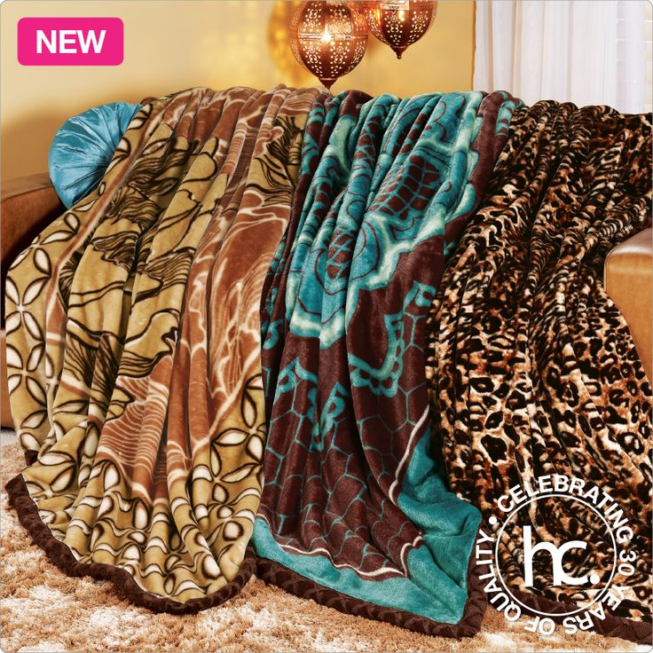Kaira 3-pc mink blanket combo from R175 p/m