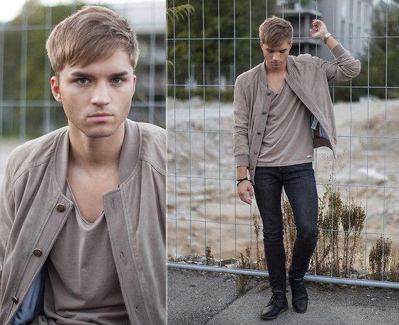 Zara Jacket, Acne Studios T Shirt