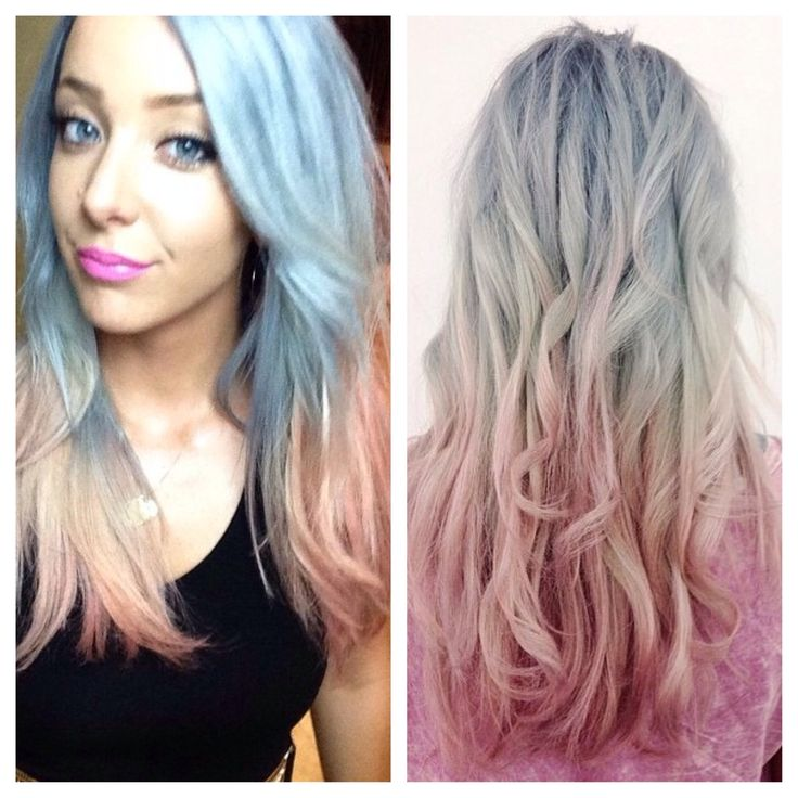 Jenna Marbles // silver to peach